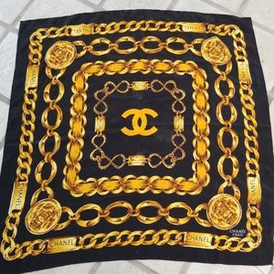 Vintage Chanel scarf!